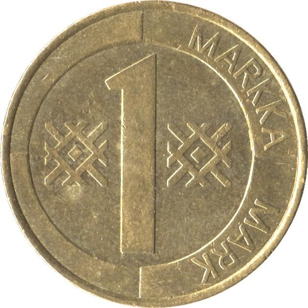 Finland 1 Markka (1993-2001)