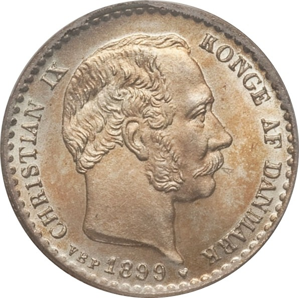 Denmark 10 Øre (1874-1905 Christian IX)