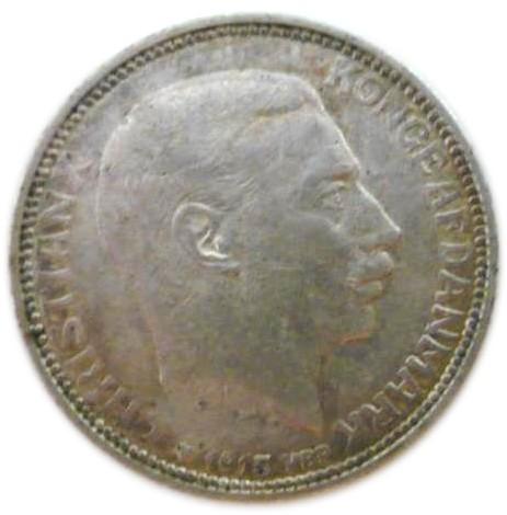 Denmark 1 Krone (1915-1916 Christian X)