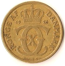 Denmark 1 Krone (1924-1941 Christian X)