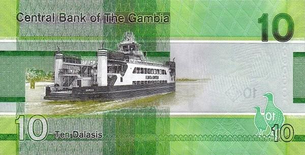 Gambia 10 Dalasis