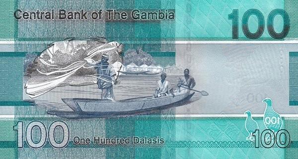 Gambia 100 Dalasis